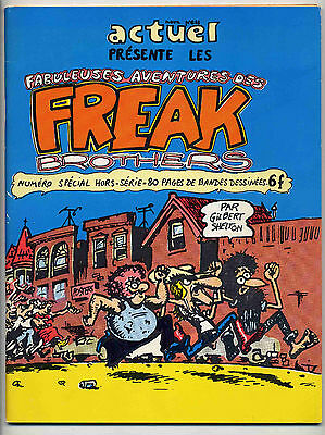 Freak brothers G. Shelton Actuel 1974 EO TTBE