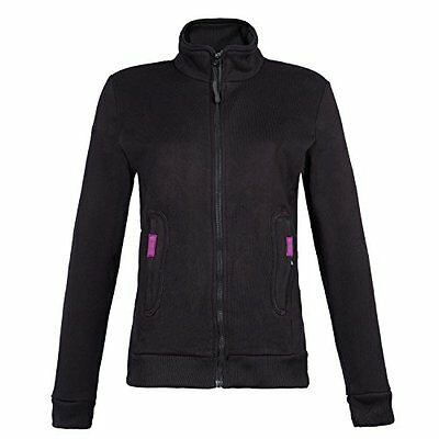 North Ways-Gilet Amelia, colore: nero, Nero, 1454-Noir-M