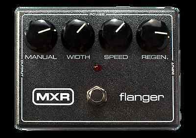 Jim Dunlop M117 MXR Flanger Modulation Guitar Effects Pedal M-117