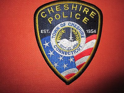 Collectible Connecticut Police Patch Cheshire New