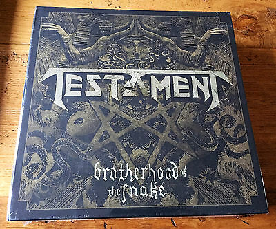 TESTAMENT Brotherhood of the Snake  -  Mailorder Edition Box - New