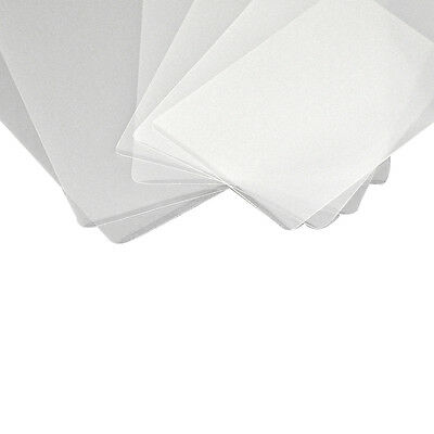 100 X 350 Micron Waterproof Laminating Pouches For Business Cards & Name Badges.