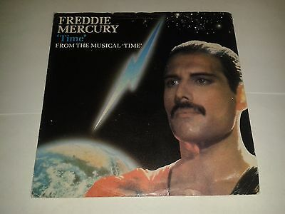 """Freddie Mercury - """"Time""""  7"""" (1986) Dave Clark's """"Time The Musical"""" / Queen"""
