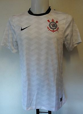 Corinthians Paulista Shirt By Nike Adults Size Small Brand New With Tags