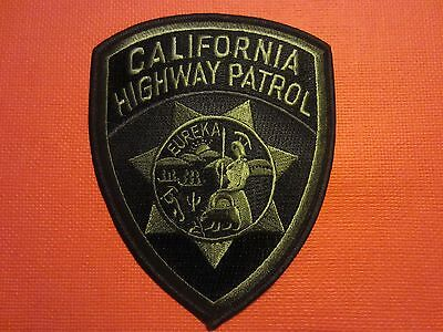 Collectible California Highway Patrol Patch Subdued New