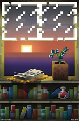 MINECRAFT - WINDOW POSTER - 22x34 - 14914