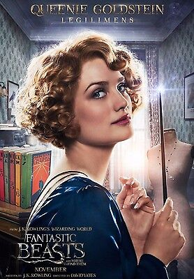 Fantastic Beasts And Where To Find Them Queenie Goldstein A6+A4+A3+Supera3 Print