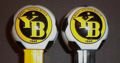 Set of  2 PEZ YOUNG BOYS BERN Dispensers MINT LOOSE -FREE SHIPPING