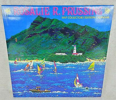Vtg ROSALIE PRUSSING 1997 Collectors Edition CALENDAR Hawaii ALOHA Paintings
