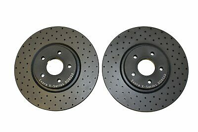 Ford Focus 2.5 ST 225 Front Performance Drilled Brake Discs