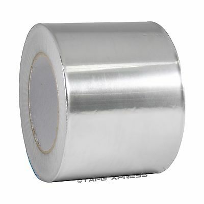 "1 Roll Aluminum Foil Tape 4"" x 150' With Liner - Malleable Foil - Free Shipping"