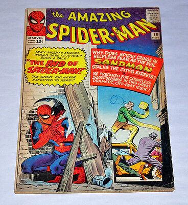 Amazing Spider-Man 18 1st Ned Leeds Silver Age