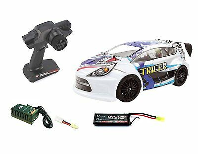 Coche radiocontrol Himoto Rallye Tricer. Electrico Brushless. 4WD. ESCALA 1/18