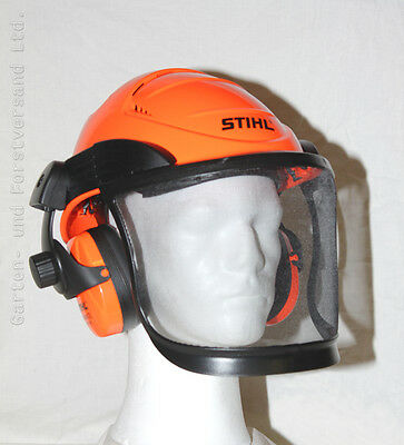 STIHL Helmset ADVANCE mit Metallgitter, orange