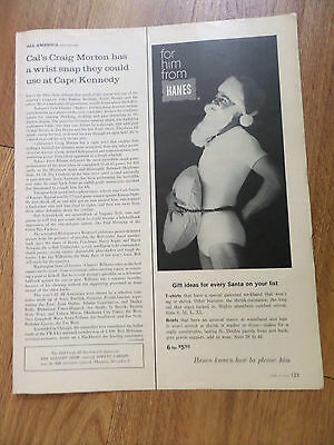 1964 Hanes Underwear Ad Gift Ideas for Every Santa on your List