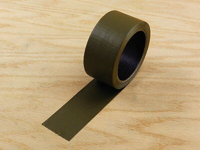 "2"" Green Colored Duct Tape Colors Waterproof UV Tear Resistant 15 yd 45' Roll"