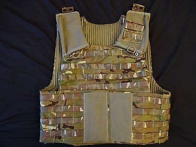 British Army OSPREY MK4 MTP Body Armour Cover / Molle Vest 180/116 - Grade 1