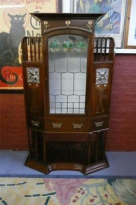 Art Nouveau cabinet and by Wylie Lochead c.1890