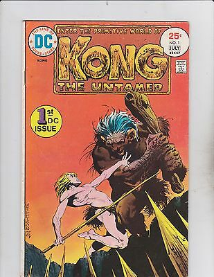 DC Comics! Kong the Untamed! Issue 1!