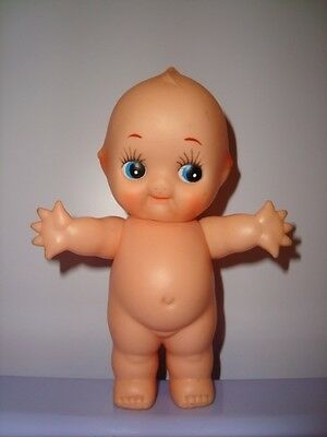 BAMBOLA BEBE' KEWPIE pupazzo gomma plastic doll pouet rubber toys poupee baby