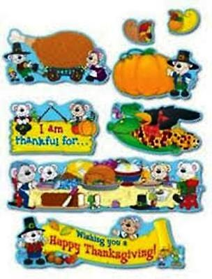 """Bulletin Board, Small and Large Decoration Lot """"B"""": Thanksgiving"""