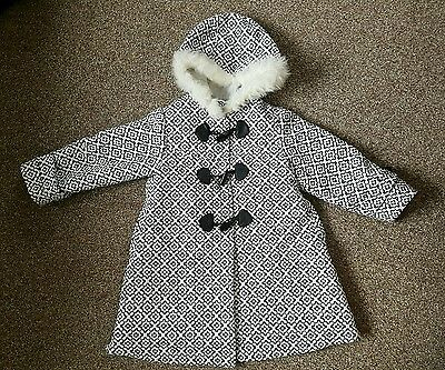 Girls Pea Coat 3-4yrs. Old. Rrp£54