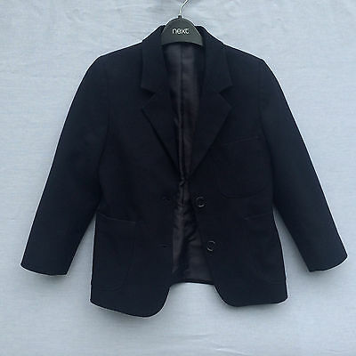 M&S marks and spencer girls blue blazer jacket blue 4 years