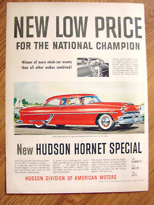 1954 Hudson Hornet Special Club Coupe Ad