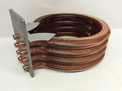 Pentair 460747 Tube Sheet Coil Assembly MasterTemp 250NA LP Pool Spa Heater