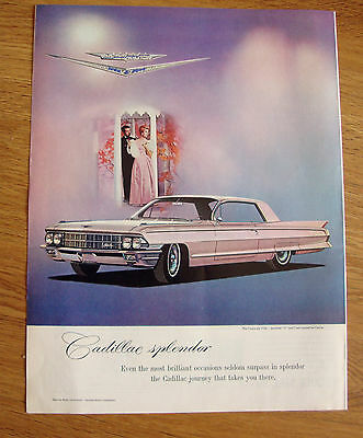 1962 Cadillac Coupe deVille Ad Jeweled V Crest by Cartier  Spendor