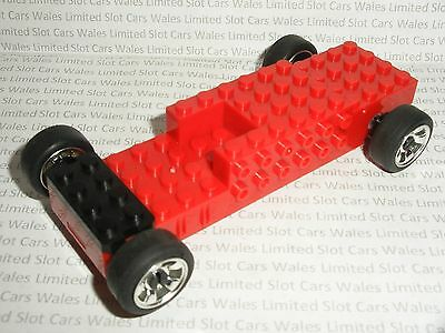 Scalextric - Quick-Build Chassis Red - Mint Cdn.