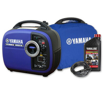 Yamaha 2000W Max/1600w Rated Inverter Generator 2kva EF2000IS Pure Sine 4 Yr War