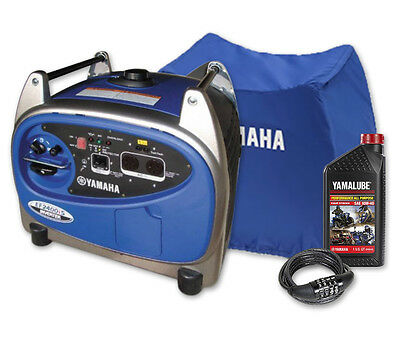 Yamaha 2400w Max/2000w Rated Inverter Generator, 2.4kva EF2400IS Pure Sine 4 yr