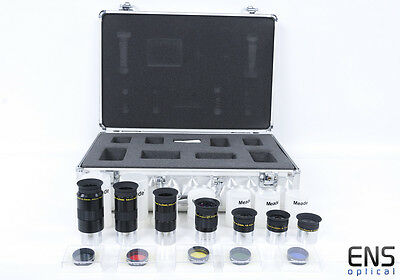 """Meade 4000 Series 1.25"""" Plossl Eyepeice and Filter set (2)"""