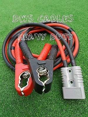 5 Mtr Jump Start Leads/anderson Battery Booster/heavy Duty Commercial/car/truck