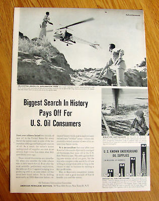 1952 Ad Biggest Search in History Pays Off