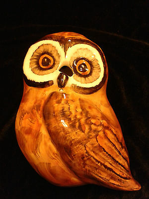 Babbacombe Pottery- Owl Scissors and string holder