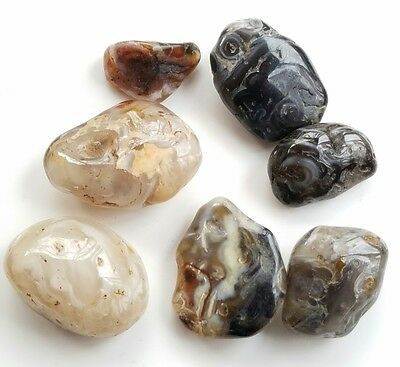 1/4 lb Oco Collection, Tumbled Whole Agate Geodes