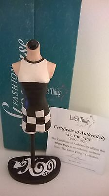The Latest Thing Stacy Bayne Fashion showcase All The Rage Mannequin statues coa