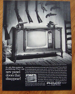 1962 Philco TV Ad  Miss America