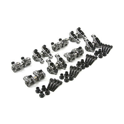 Chevy LS 1.7 Ratio Adjustable Stainless Steel Roller Rocker Arm Set
