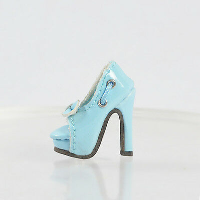 Sherry Doll Cream Blue Shoes/Sandals for Fashion Royalty FR2 Poppy Parker,DG