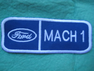 """Ford Mach 1 Mustang Uniform Patch 4 3/8"""" X 1 3/4"""""""