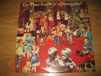 Original Band Aid Do they know it's Christmas 12 inch vinyl 1984