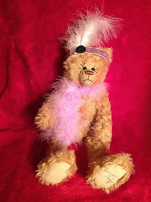Gund Twiggy Teddy Bear - Millie - brown mohair jointed limited edition no.232