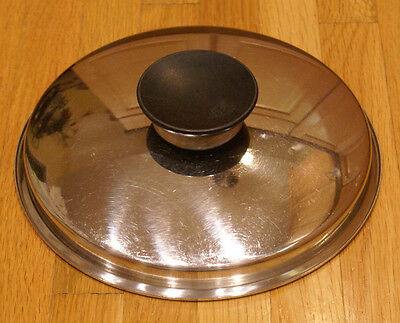 """8 3/8"""" Replacement Lid For Presto Pride Usa Stainless Steel Pan Pot"""