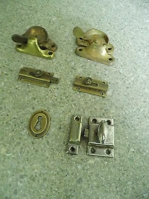 Vintage Hardware - Latches & Keywhole cover