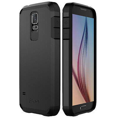 JETech® Samsung Galaxy S5 Case Two-Layer Ultra-Slim Super Protective Hard Cover