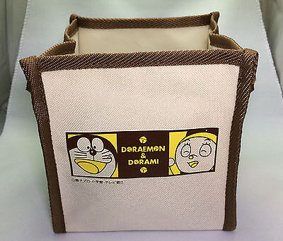 DORAEMON & DORAMI FABRIC STORAGE BOX - FOLDABLE with HANDLES