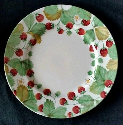 Royal Stafford Fine Earthenware Wildberry Strawberry 11 inch Plate England